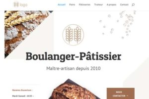 exemple site internet boulangerie patisserie