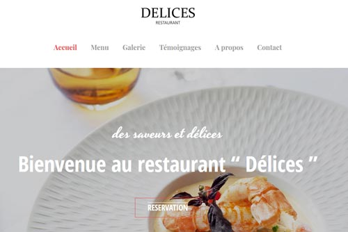 exemple site internet restaurant2